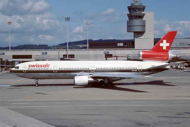 HB-IHG Douglas DC10-30 LSZH 25-08-88
