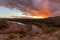 Boquillas Canyon sunset