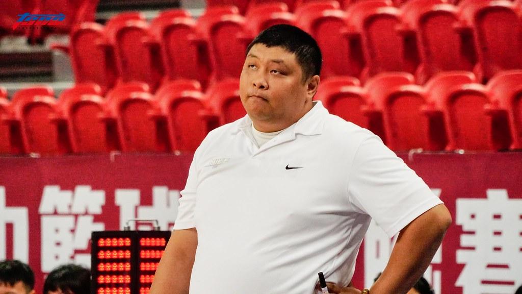 光復高中教練陳定杰。(資料照/記者賴柏安攝)