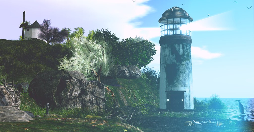 Lighthouse at Abigail's wave