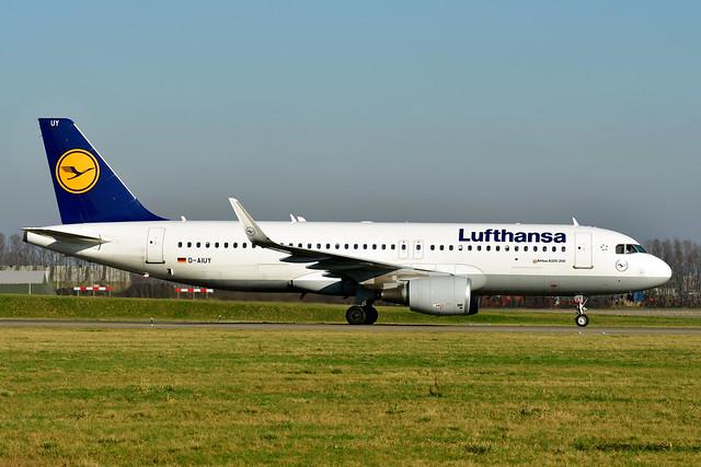 D-AIUY A320-214 cn 7355 Lufthansa 200207 Schiphol 1003