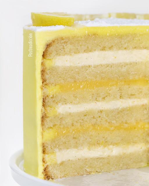 receta layer de limón