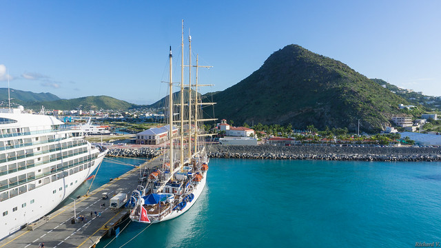 Royal Clipper, voilier - St-Martin, Caraïbes - 3671