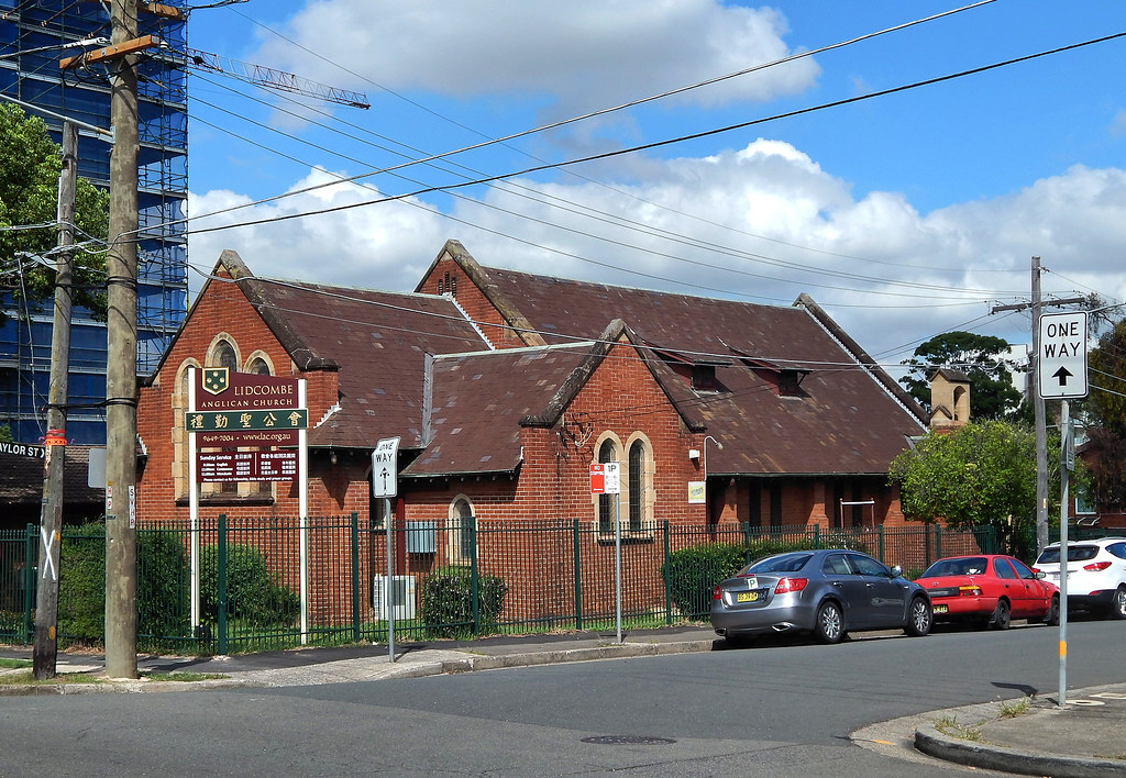 Anglican Church, Lidcombe, Sydney, NSW.
