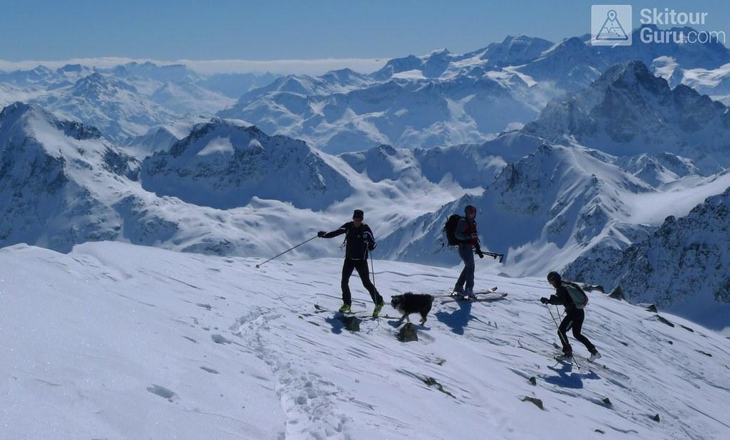 Piz Calderas Albula Alpen Schweiz foto 20