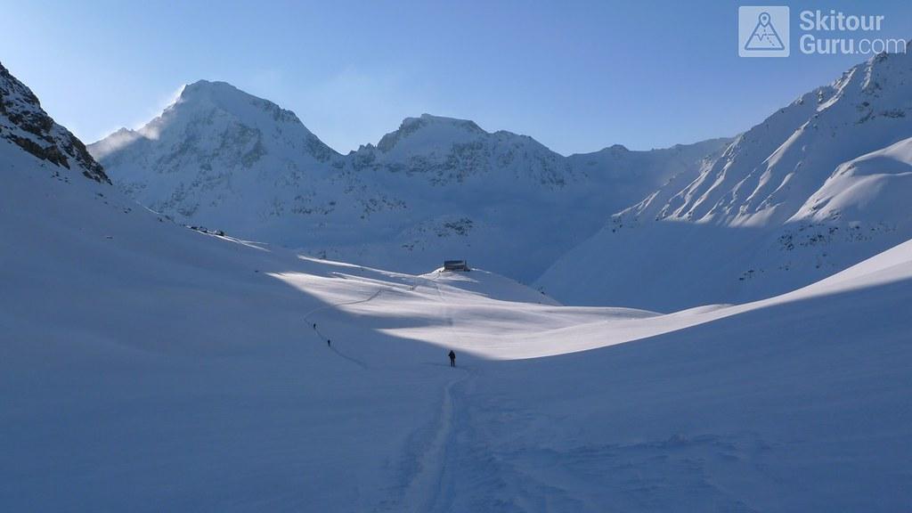 Piz Calderas Albula Alpen Schweiz foto 01