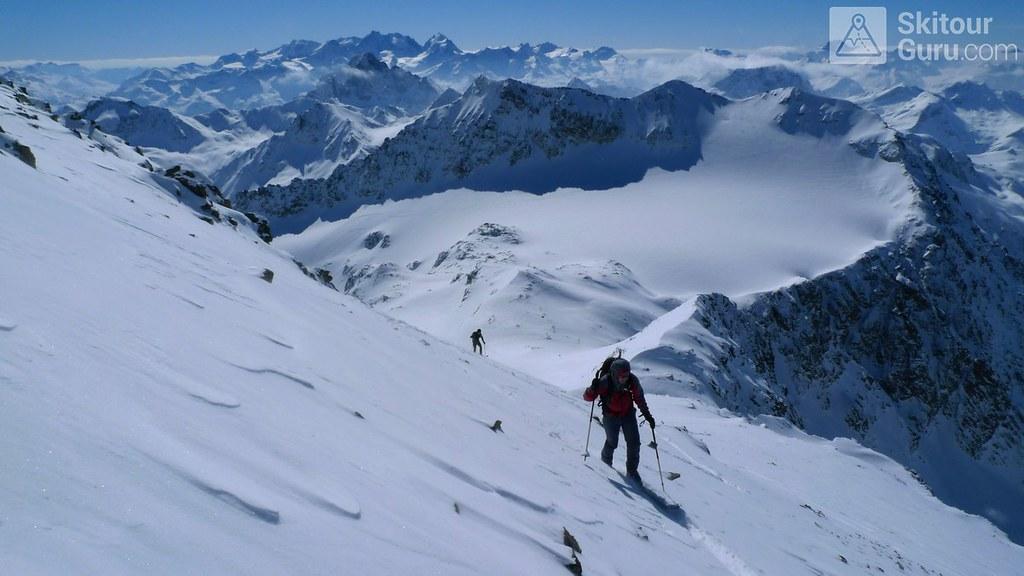 Piz Calderas Albula Alpen Schweiz foto 17