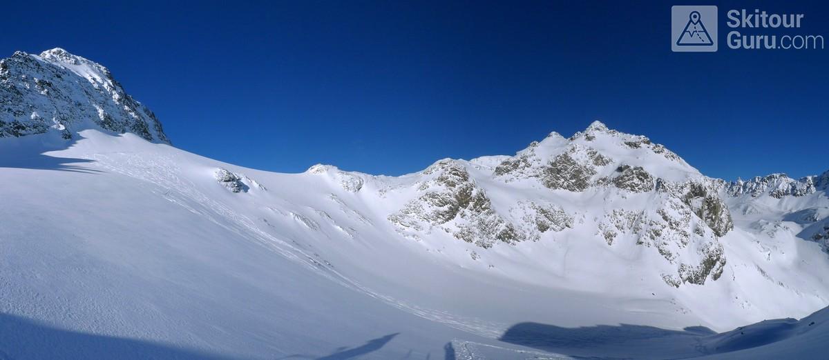 Piz Calderas Albula Alpen Schweiz panorama 29