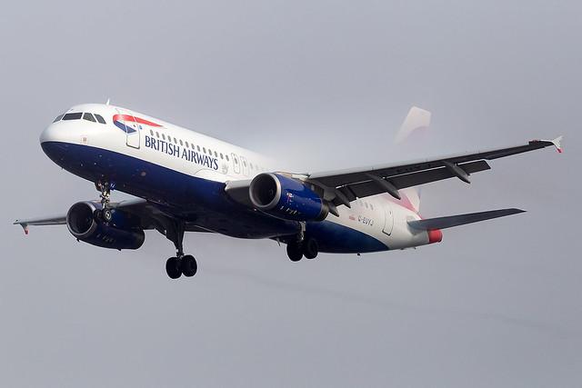 G-EUYJ British Airways A320-200 London Heathrow Airport