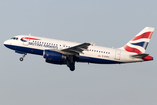 G-EUPU British Airways A319 London Heathrow Airport