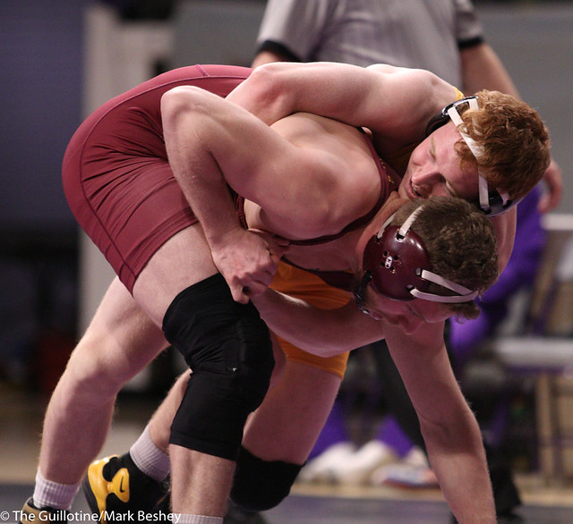 157: Cooper Siebrecht (MSU) Dec. over Walker Carr (NSU) 5-2 | 13-5 MSU - 200215mb0063