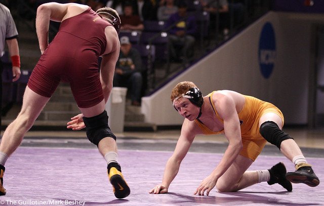 157: Cooper Siebrecht (MSU) Dec. over Walker Carr (NSU) 5-2 | 13-5 MSU - 200215mb0061