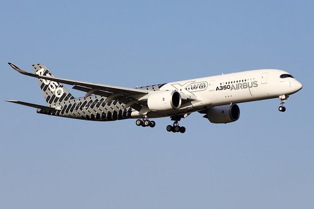 AIRBUS  INDUSTRIE / A 350-900   F-WWCF   msn 002 / LFBO - TLS / fév 2020