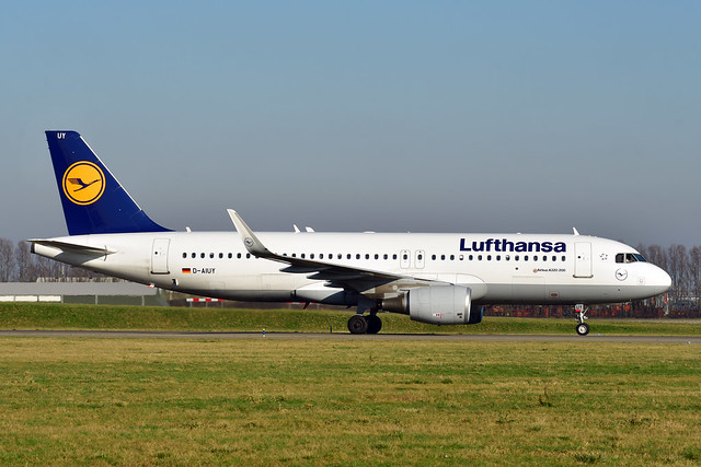 D-AIUY A320-214 cn 7355 Lufthansa 200207 Schiphol 1002