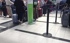 The great traveling public, ORD check-in 8/2019