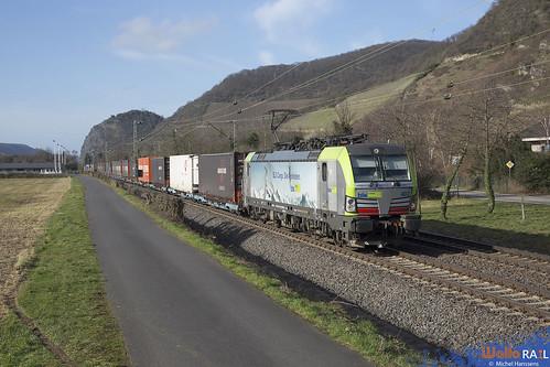 Re 475 402 . BLS Cargo . Leutesdorf . 15.02.20.
