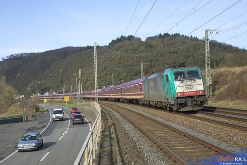 2841 . LNS . 13471 Krokus Express . Haarlem (NL) Bludenz (A) . Linz (Rhein) 15.02.20.
