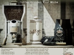 Grinder F-Class white