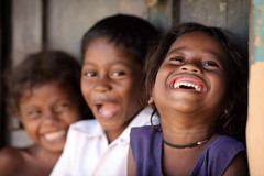 India, tribal children in Chhattisgarh