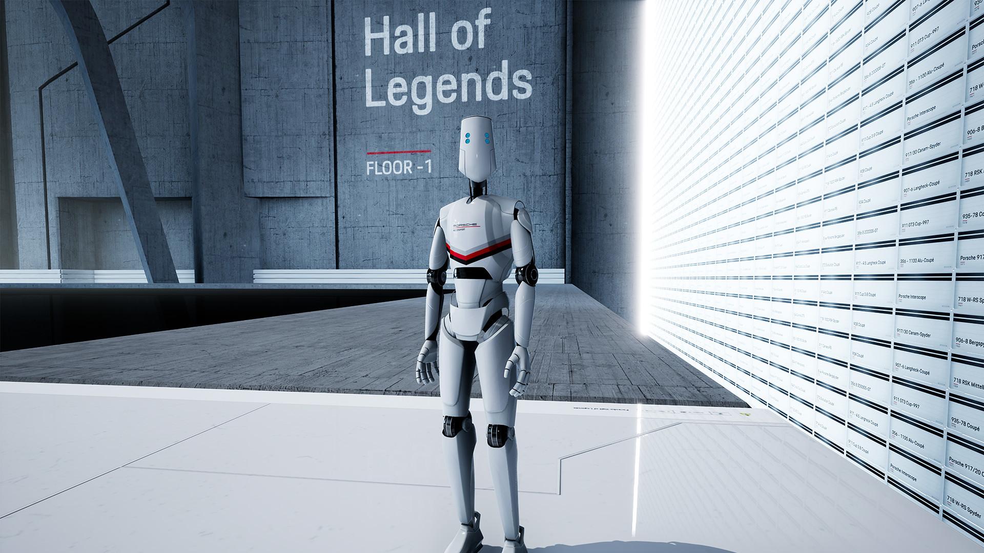 Porsche Hall of Legends VR 2
