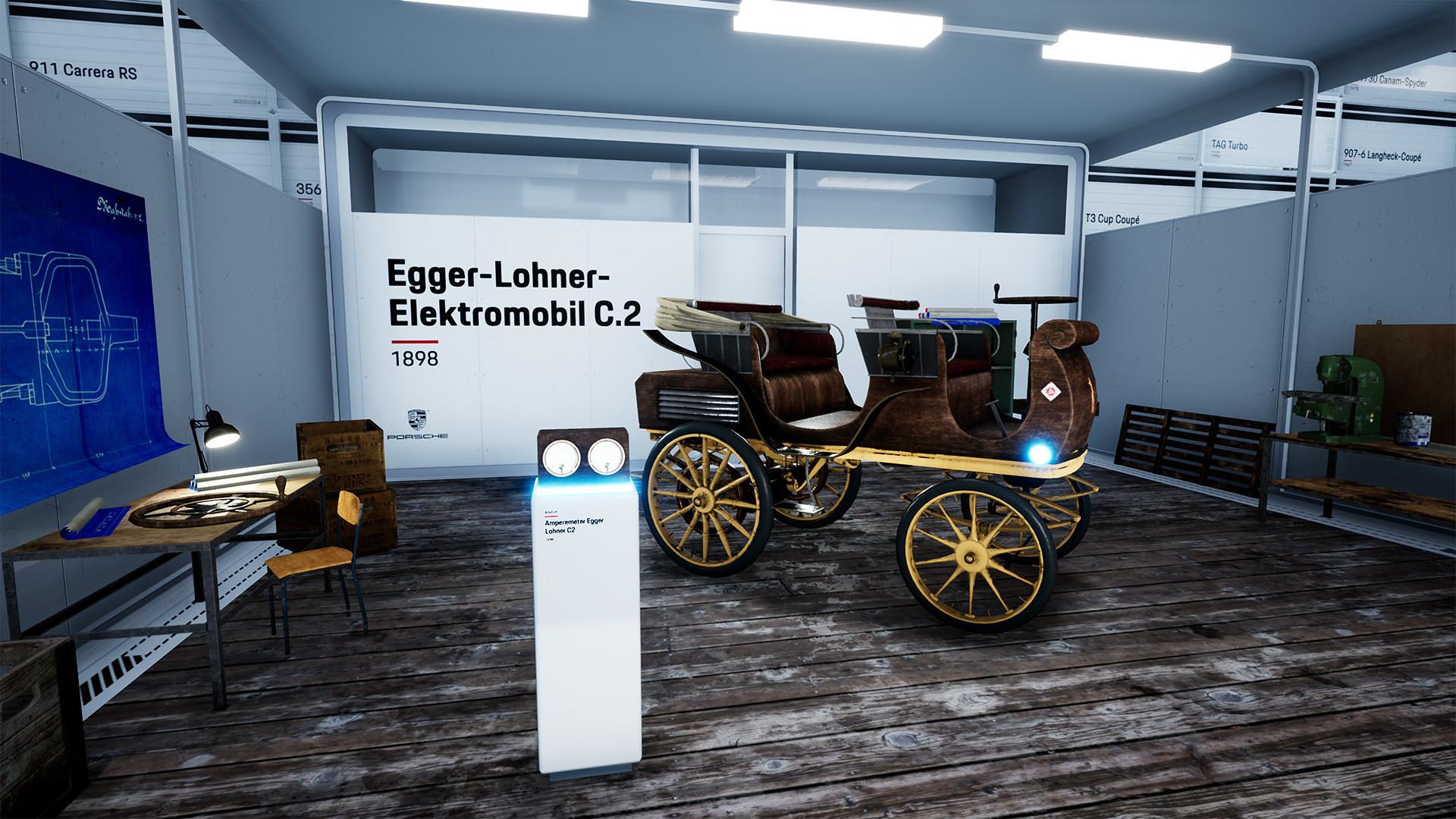 Porsche Hall of Legends VR 4