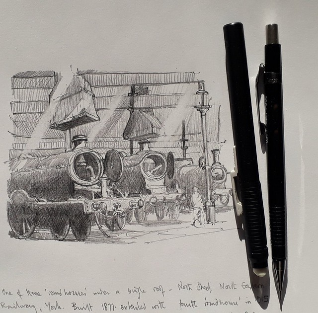 Railway roundhouse