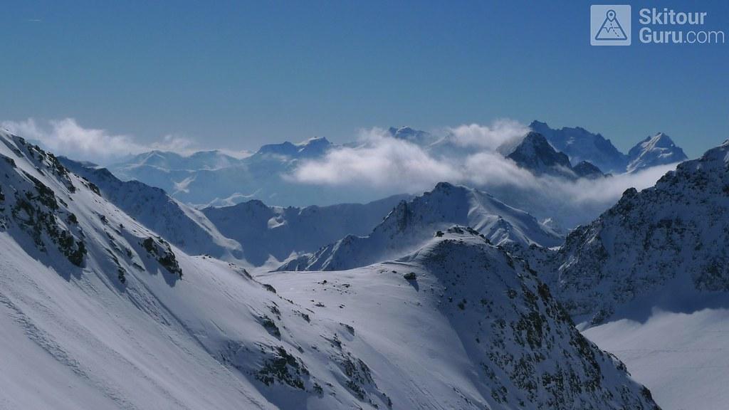 Piz Calderas Albula Alpen Schweiz foto 14