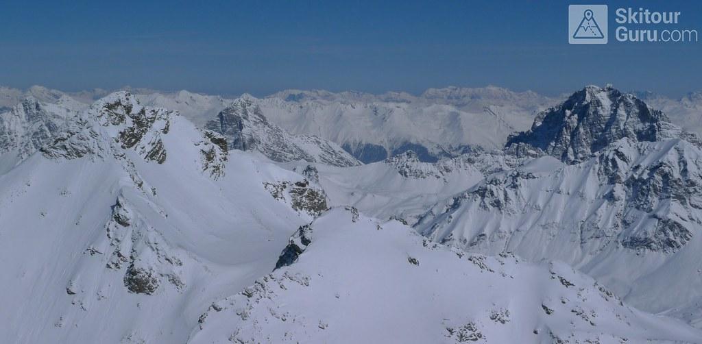 Piz Calderas Albula Alpen Schweiz foto 18