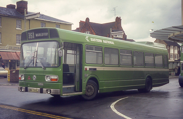 Eastern National WNO550L Chelmsford 15th January 1974