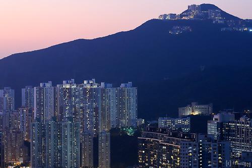 Nam Long Shan at Night