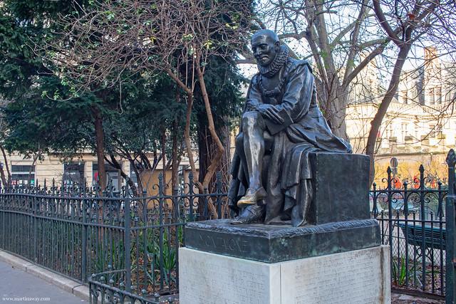 Statua di Montaigne