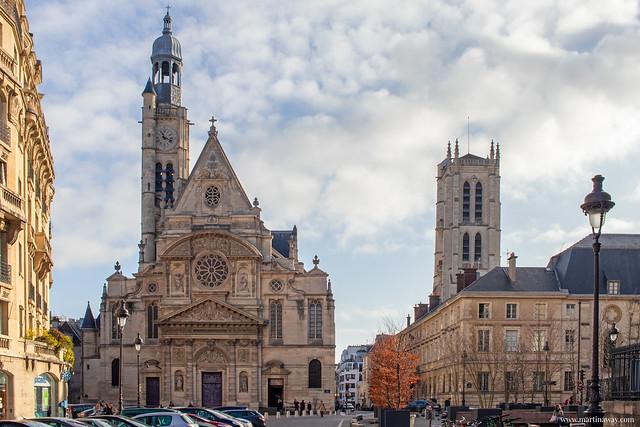 Saint-Étienne-du-Mont, Quartiere Latino di Parigi