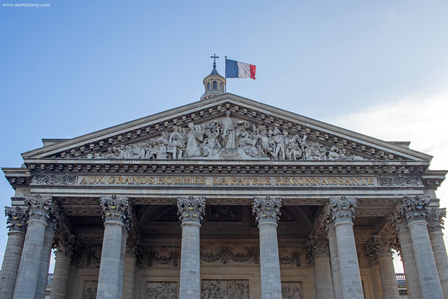 Panthéon, Quartiere Latino di Parigi