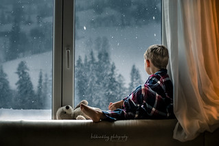 Waiting for snow.