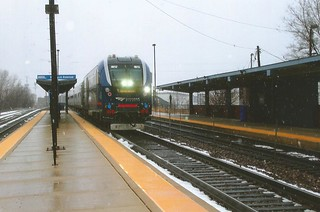 Illinois Zephyr at Western Ave