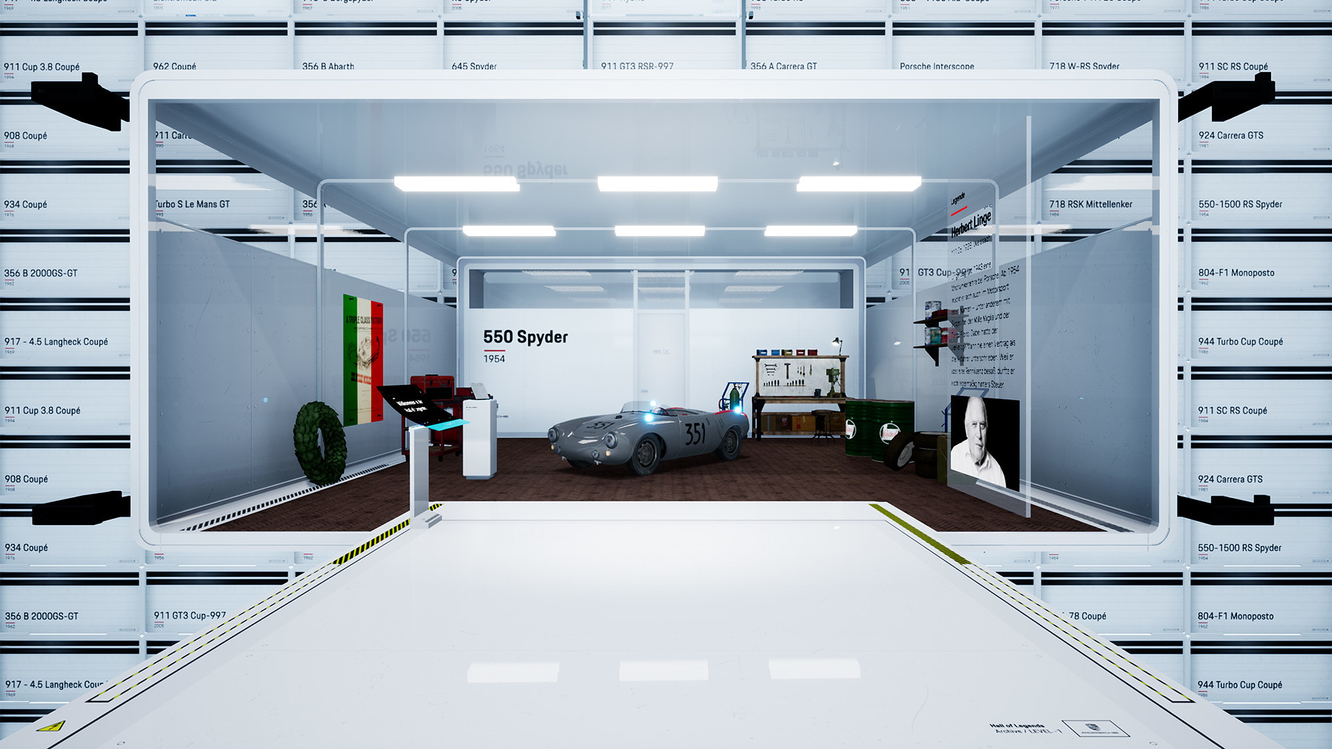 Porsche Hall of Legends VR 1