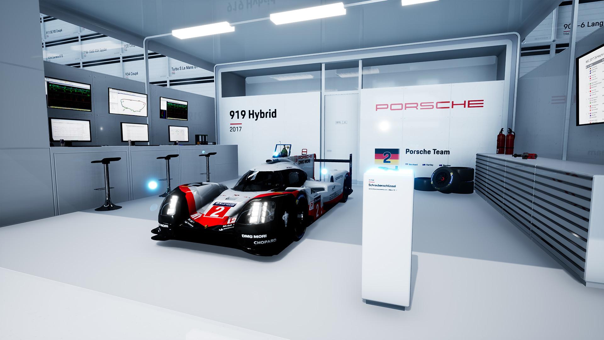 Porsche Hall of Legends VR 3