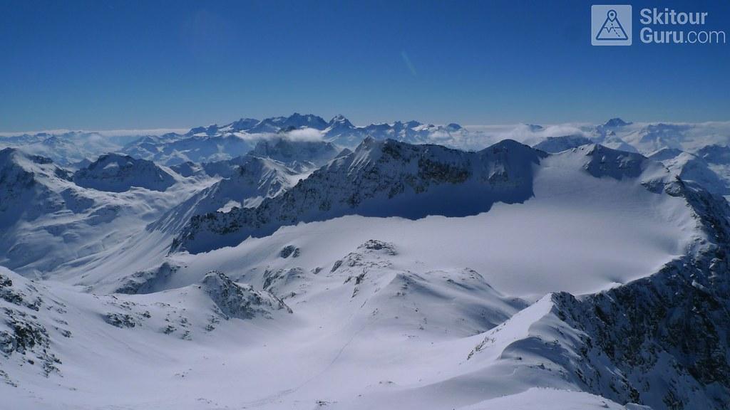 Piz Calderas Albula Alpen Schweiz foto 16