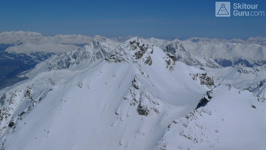 Piz Calderas Albula Alpen Schweiz foto 21
