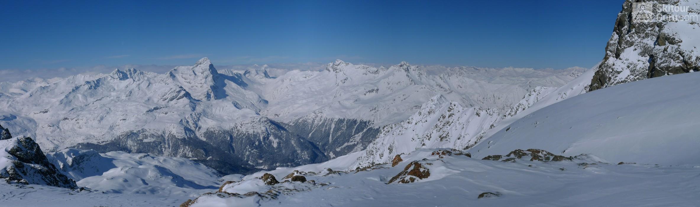 Piz Calderas Albula Alpen Schweiz panorama 31