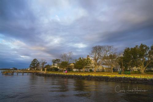 sunrise neuse river neuseriver clouds chairs house oriental onc northcarolina easternnorthcarolina nc
