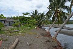 Barrio La Playita, muy próximo a la bahía de Baracoa y el río Macaguanigua