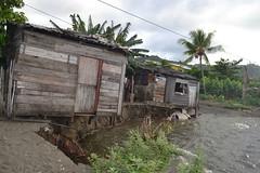 Estado constructivo de las viviendas en La Playita, Baracoa, tras impacto de eventos climatológicos
