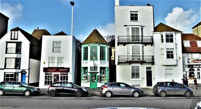 Hastings 'Old Town' . Sussex.