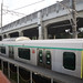 Tokyu 2020 Series Train Parking near Nagatsuta Station