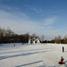Санная Трасса в парке горького в Казани