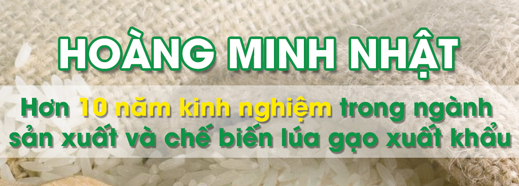 Công ty xuất nhập khẩu lúa gạo Cần Thơ HOÀNG MINH NHẬT 0292 3681171