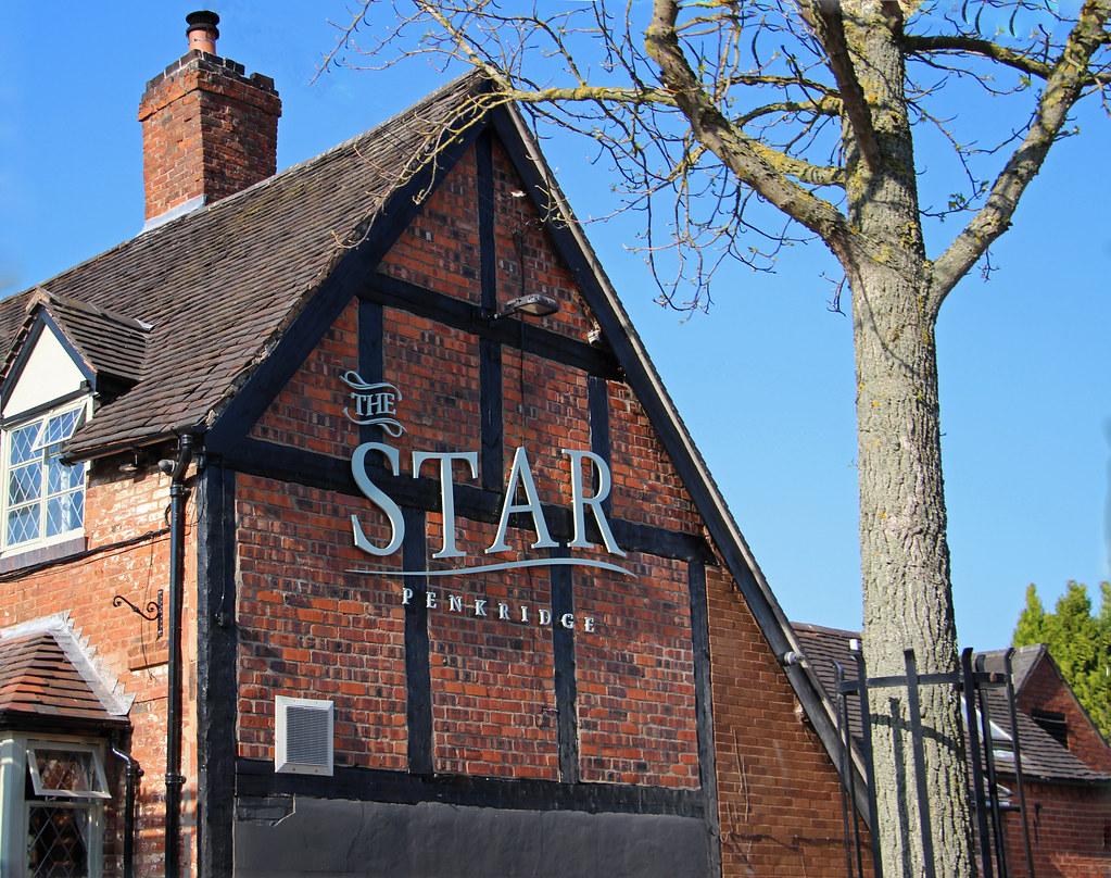 English Pub Sign - The Star at Penkridge
