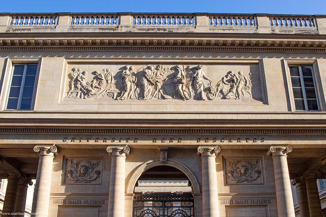 Université Paris-Descartes, Quartiere Latino di Parigi