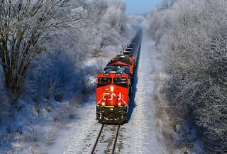 CN 2984 on UP - 2/16/2020